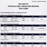 PAL FLIGHTS FROM CLARK